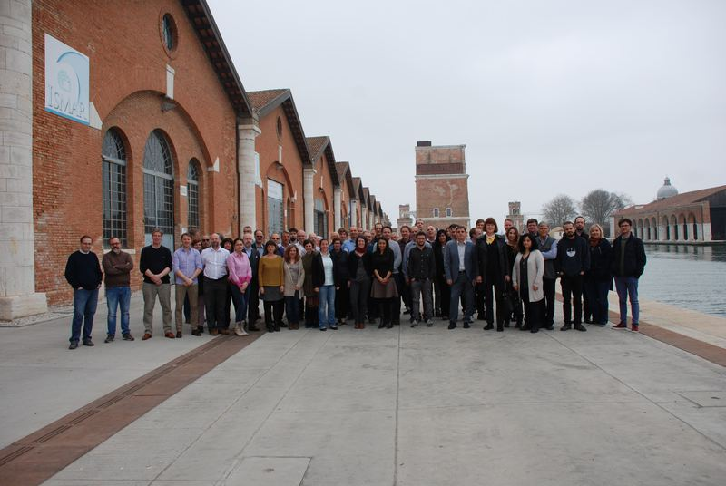 Kick-off meeting group picture // emodnet_partners_venice.jpg (126 K)
